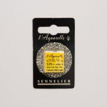 AQUARELLE 1/2 GODET SENNELIER JAUNE CADMIUM CLAIR VERITABLE S4