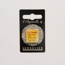 AQUARELLE 1/2 GODET SENNELIER JAUNE CADMIUM FONCE VERITABLE S4