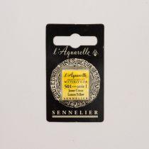 AQUARELLE 1/2 GODET SENNELIER JAUNE CITRON S1