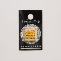 AQUARELLE 1/2 GODET SENNELIER JAUNE DE NAPLES FONCE S1