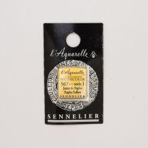 AQUARELLE 1/2 GODET SENNELIER JAUNE DE NAPLES S1