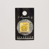 AQUARELLE 1/2 GODET SENNELIER JAUNE NICKEL S4