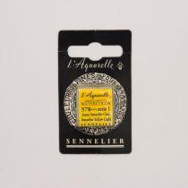 AQUARELLE 1/2 GODET SENNELIER JAUNE SENNELIER CLAIR S1