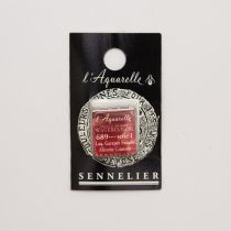AQUARELLE 1/2 GODET SENNELIER LAQUE DE GARANCE FONCE S1