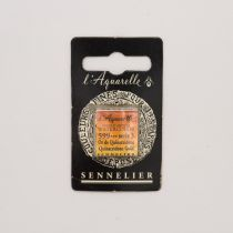 AQUARELLE 1/2 GODET SENNELIER OR DE QUINACRIDONE S3