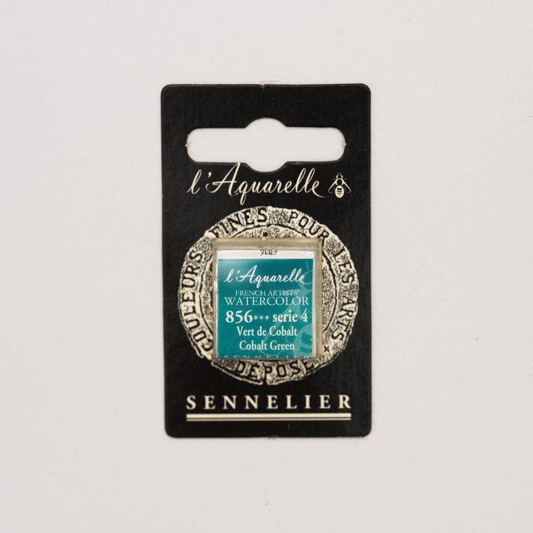 AQUARELLE 1/2 GODET SENNELIER VERT DE COBALT S4