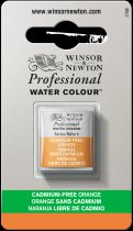 AQUARELLE 1/2 GODET W&N ORANGE SANS CADMIUM S4