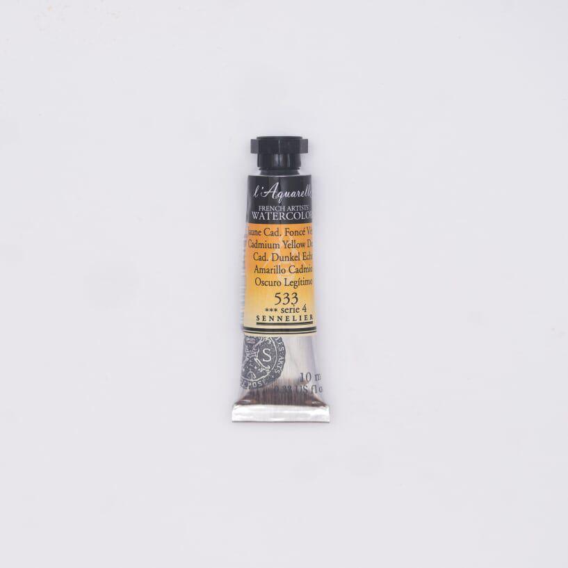 AQUARELLE 10ML SENNELIER JAUNE CADMIUM FONCE S4