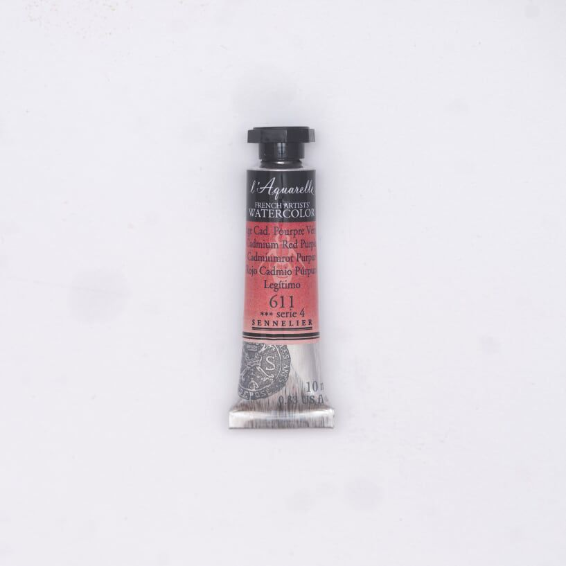 AQUARELLE 10ML SENNELIER ROUGE CADMIUM POURPRE VERITABLE S4