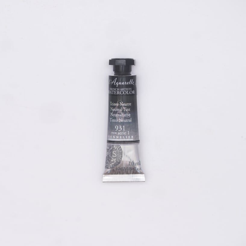 AQUARELLE 10ML SENNELIER TEINTE NEUTRE S1