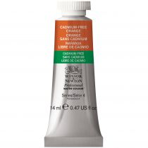AQUARELLE 14ML W&N ORANGE SANS CADMIUM S4