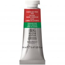 AQUARELLE 14ML W&N ROUGE SANS CADMIUM S4