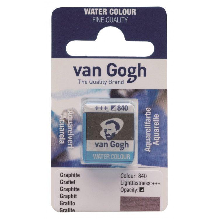 AQUARELLE FINE 1/2 GODET VAN GOGH METALLIC GRAPHITE