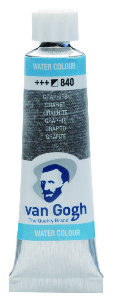 AQUARELLE FINE TUBE 10ML VAN GOGH METALLIC GRAPHITE