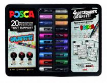 BLACK BOX 20 POSCA GRAFITI