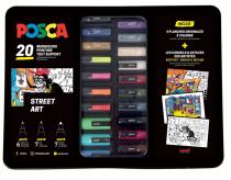 BLACK BOX 20 POSCA STREET ART