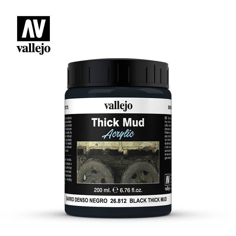 BLACK THICK MUD 200ML