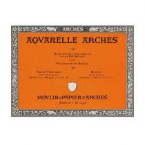 BLOC AQUARELLE ARCHES 23X31CM GRAIN TORCHON 300GRS 20 FEUILLES