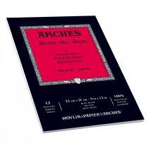 BLOC ARCHES HUILE GRAIN FIN 23X31CM 300G/M²