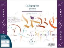 BLOC CALLIGRAPHIE LANA 250g 30X40CM