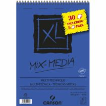 BLOC CANSON XL MIX MEDIA A4 300G