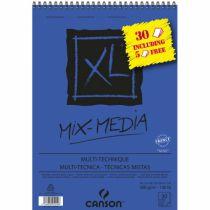 BLOC CANSON XL MIX MEDIA A4 300G