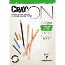 BLOC CRAY\'ON ENCOLLE A4 160GRS