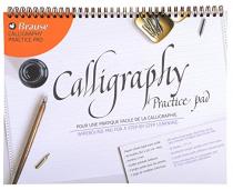 BLOC DE CALLIGRAPHIE D\'APPRENTISSAGE BRAUSE A4+ 90g 50 Feuilles