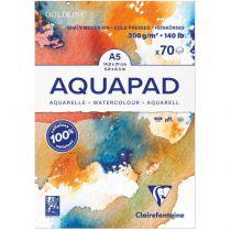 BLOC GOLDLINE AQUAPAD A5 - 70 Feuilles - 300G