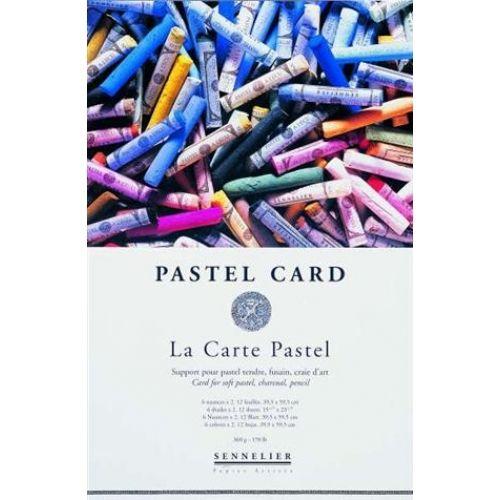 BLOC PASTEL CARD 30X40CM