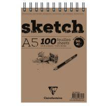 BLOC SKETCH A5 90GRS
