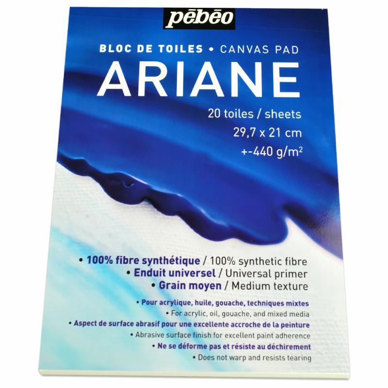 BLOC TOILE ARIANE PREDECOUPEE A4