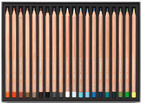 40 crayons luminance 6901 3