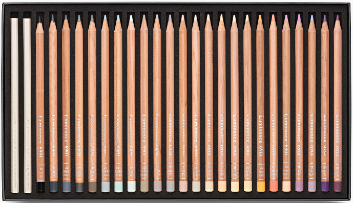 76 crayons luminance 6901 4