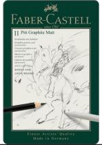 Crayons Pitt Graphite Matt FABER CASTELL