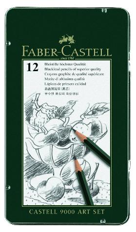 12 castell graphite
