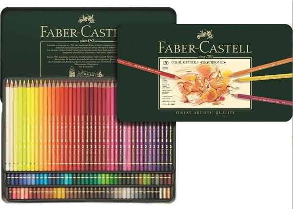 boite 120 crayons polychromos 1