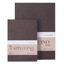Book LE CAPUCCINO A5 80 pages Papier couleur Kraft chaud