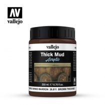 BROWN THICK MUD 200ML
