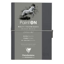 CARNET COUSU PAINT\'ON A5 GRIS