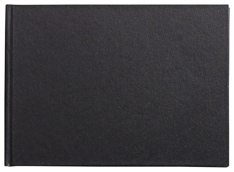 CARNET RIGIDE GOLDLINE A5 140G PAYSAGE BLANC