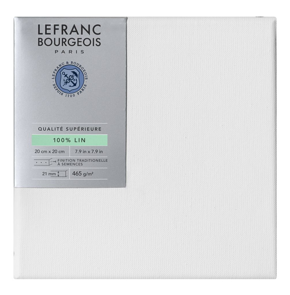 CHASSIS LIN SUPERIEUR LEFRANC & BOURGEOIS 30F (FIGURE) 92x73CM