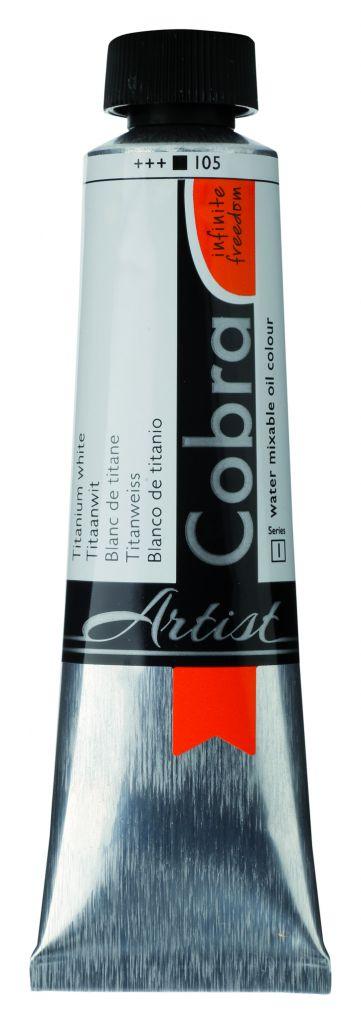 COBRA 40ML BLANC TITANE S1