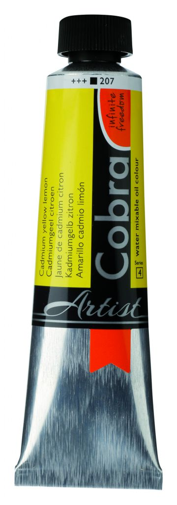 COBRA 40ML CADM JAUNE CITRON  S 4