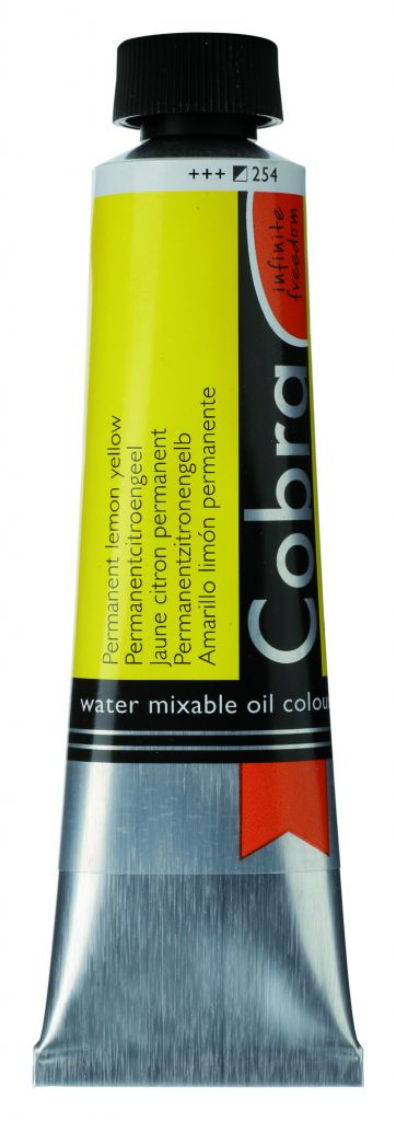 COBRA 40ML JAUNE CITRON PERMANENT S2