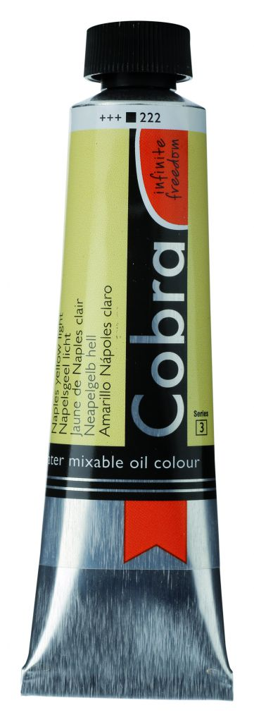 COBRA 40ML JAUNE DE NAPLES CLAIR S3