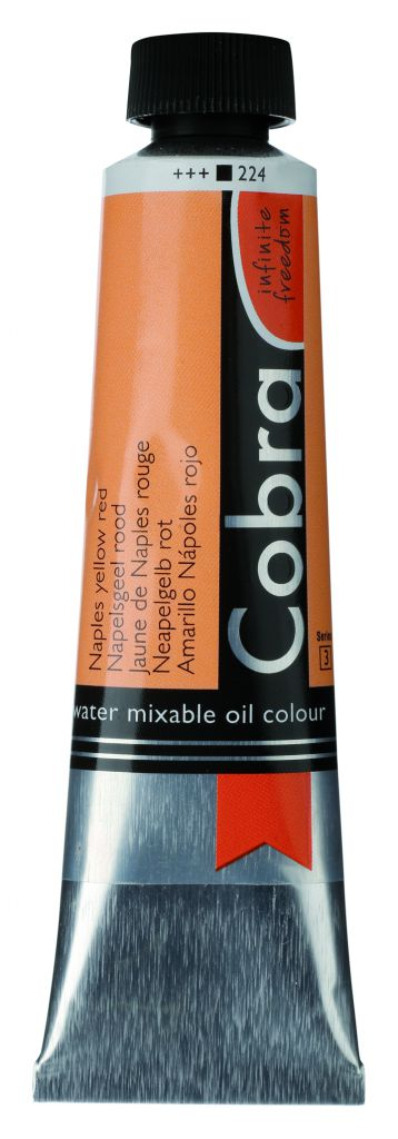 COBRA 40ML JAUNE DE NAPLES ROUGE S3