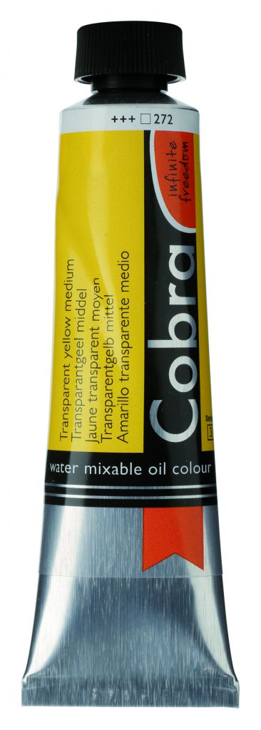 COBRA 40ML JAUNE MOYEN TRANSPARENT S3