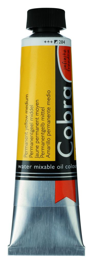 COBRA 40ML JAUNE PERMANENT MOYEN S2