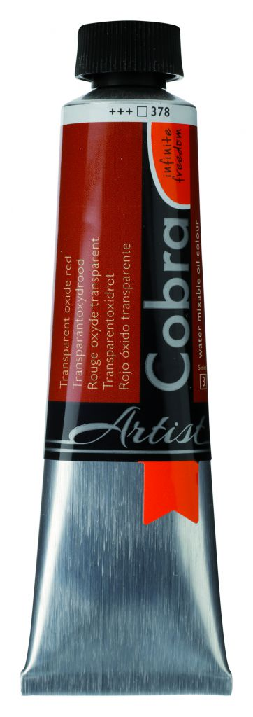 COBRA 40ML ROUGE OXYDE TRANSPARENT S3